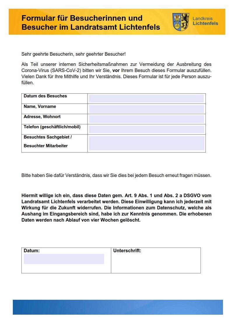 Formular für Besucher_Miniatur