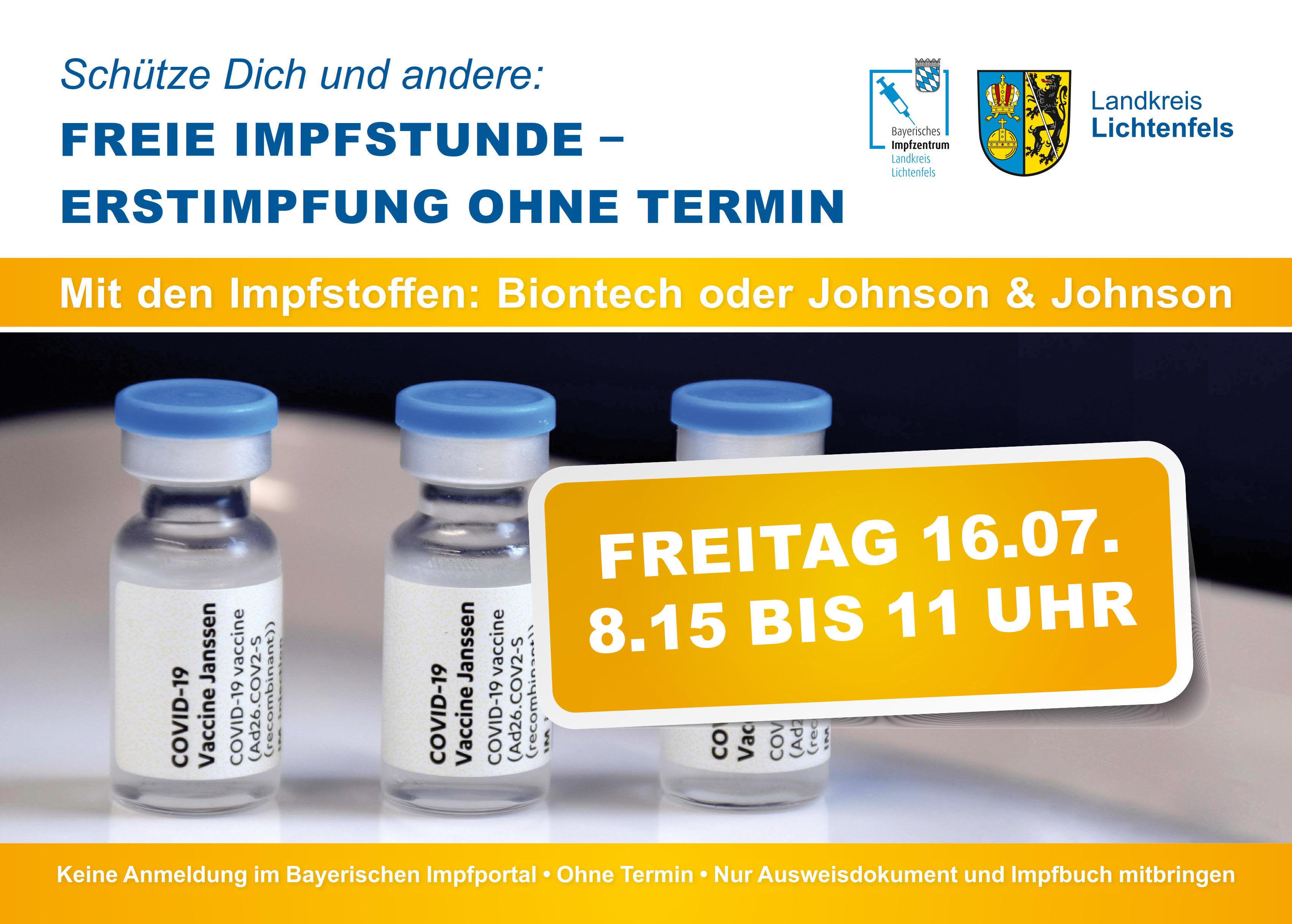 Freie Impfstunde