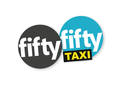 FiftyFifty Taxi Logo
