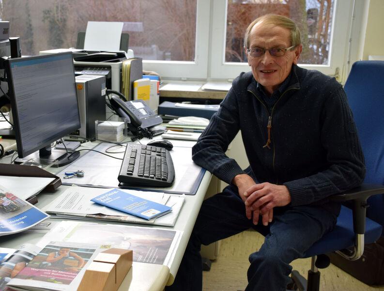 Der Beauftragte für Menschen mit Behinderung, Rudolf Ruckdeschel, hält immer mittwochs Sprechstunde im Landratsamt. Foto: Landratsamt Lichtenfels/Heid