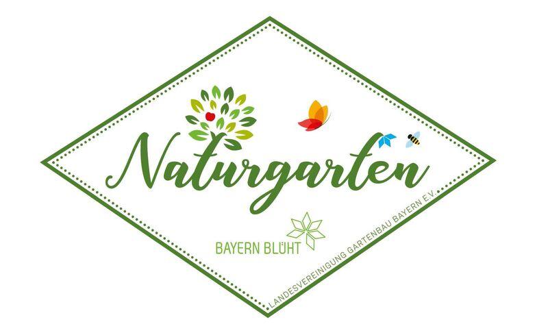 Das Logo zur Natur-Gartenzertifizierung
