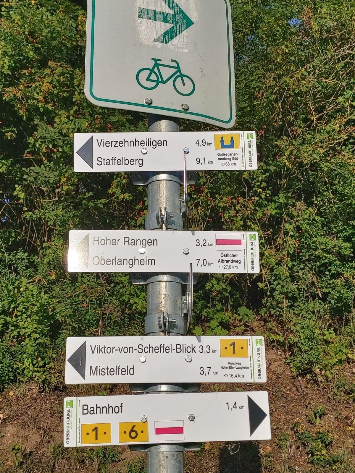 Das umfassende Wanderwegenetz bedarf Wartung. Deswegen werden derzeit Wanderwegewarte gesucht. (Foto: Tourismusregion Obermain-Jura)