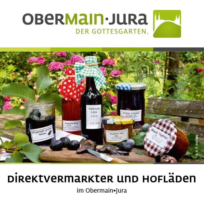 Die neue Direktvermarkterbroschüre der Tourismusregion Obermain•Jura. (Foto: Tourismusverein Obermain-Jura e. V.)