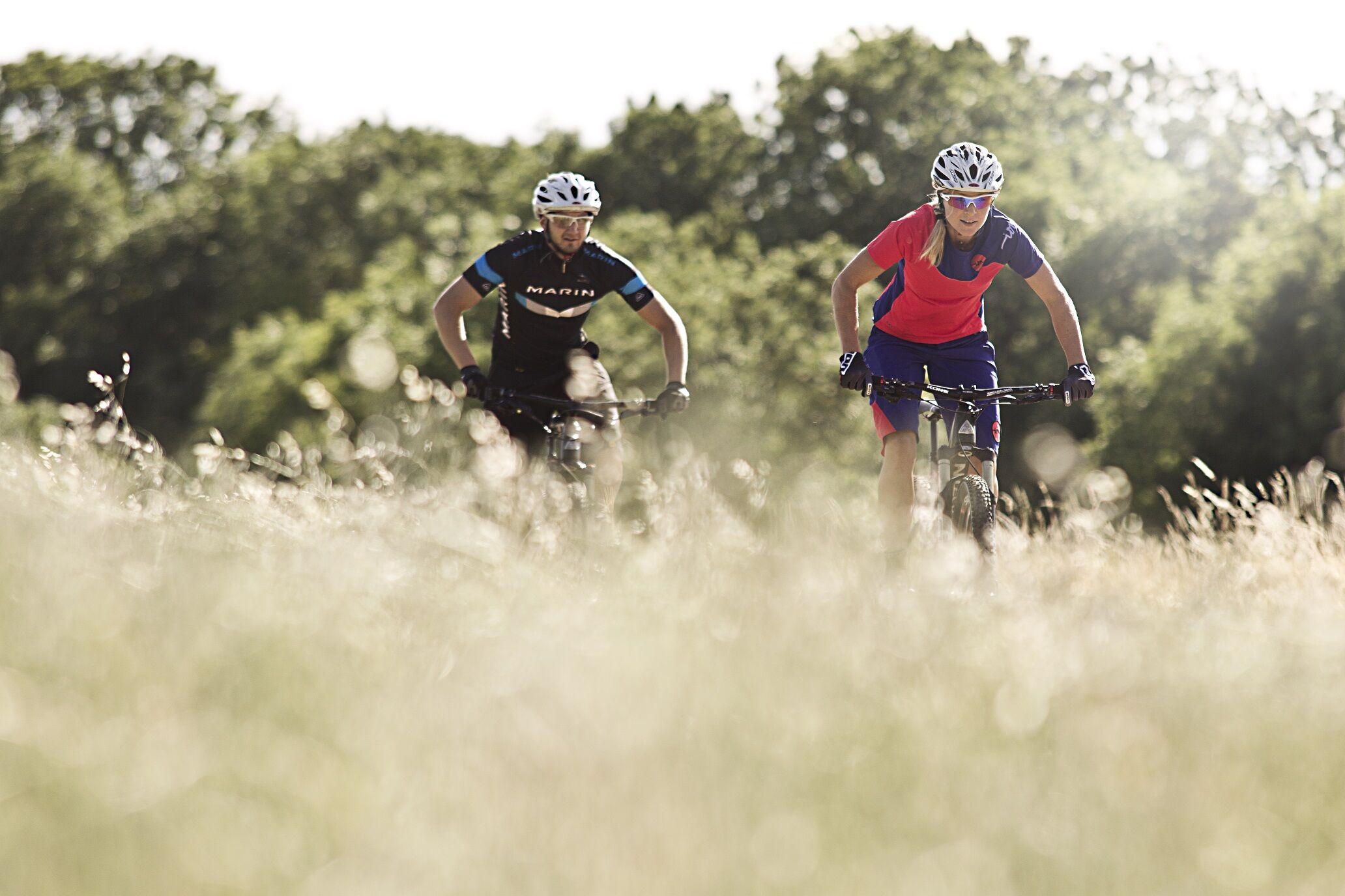 Die Tourismusregion Obermain•Jura bietet im Juli und September Erlebnistouren mit dem Mountainbike durch den Gottesgarten an. (Foto: Tobias Woggon)
