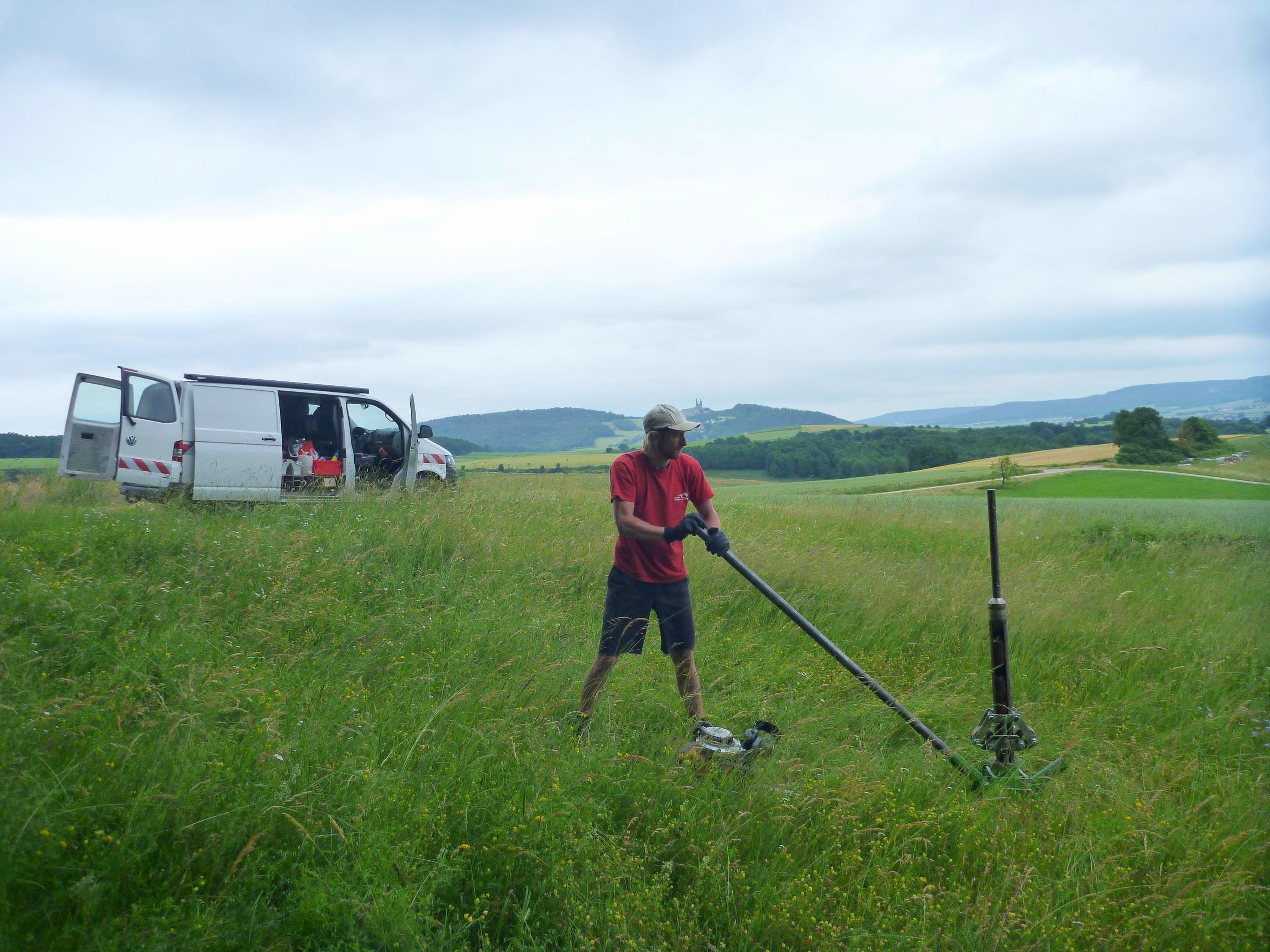 Das Pilotprojekt Bodenuntersuchungen im Landkreis Lichtenfels wird fortgesetzt. Foto Bayerisches Landesamt für Umwelt