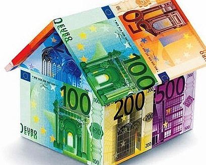 Haus aus Geldscheinen nnA