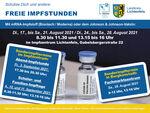 Miniaturbild zu:Pressemitteilung 294-2021: Aktuelle Zahlen: COVID-19-Infizierte in den einzelnen Kommunen im Landkreis Lichtenfels