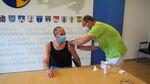 Miniaturbild zu:Pressemitteilung 338-2020: Landrat Christian Meißner lässt sich gegen Grippe impfen