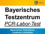 Miniaturbild zu:Bayerisches Testzentrum des Landkreises Lichtenfels (PCR-Labor-Test)