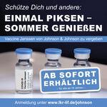 Miniaturbild zu:Impfung mit Johnson & Johnson - 600 Impfdosen vorrätig