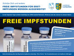Miniaturbild zu:Erstimpfung ohne Termin: Freie Impfstunden und Sonderimpftermine