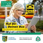 Miniaturbild zu:Pressemitteilung 437-2019: Auf Anruf Bus: So funktioniert's mit den Rufbussen