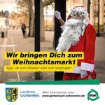 Miniaturbild zu:Pressemitteilung 402-2019: Umwelttipp: Mit dem ÖPNV zum Weihnachtsmarkt