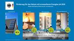 Miniaturbild zu:Pressemitteilung 014-2020: Fördermittel für innovative Heizungsanlagen