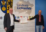 Miniaturbild zu:Pressemitteilung 102-2020: 60.000 Euro für die Kommunen im Landkreis