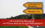Miniaturbild zu:Pressemitteilung 124-2020: Deckensanierung auf der Kreisstraße LIF 2 zwischen Kloster Banz und Weingarten