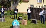 Miniaturbild zu:Pressemitteilung 154-2020: Firma Weckbrodt Gardinen spendet 2000 FFP2-Schutzmasken