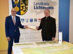 Miniaturbild zu:Pressemitteilung 196-2020: Landratsamt Lichtenfels signalisiert grünes Licht für Neubau des Bezirksklinikums Obermain Kutzenberg