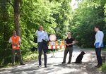 Miniaturbild zu:Pressemitteilung 213-2020: Straße Vierzehnheiligen-Oberlangheim bald wieder ganz für den Verkehr frei