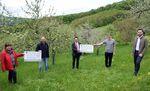 Miniaturbild zu:Pressemitteilung 156-2021: Förderpreise für Umweltstation und Kreisverband für Gartenbau