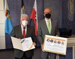Miniaturbild zu:Pressemitteilung 254-2021: Winfried Weinbeer 48 Jahre im Kreistag