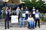 Miniaturbild zu:Pressemitteilung 304-2021: Landrat Meißner begrüßt neue Auszubildende